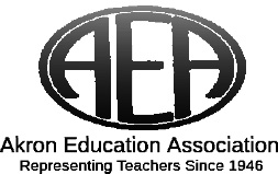 Akron Education Association Endorsement
